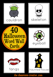 halloween math and literacy stations