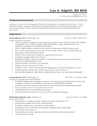 Best Resume Leadership by Sample Registered Nurse Resume Berathen Com
