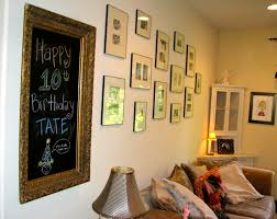 how to make a framed chalkboard check this out homesfeed big chalkboard creation with luxurious golden frame group of picture frames corner cupboard chic table lamp