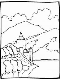 nature scenes coloring pages coloring kids kids coloring