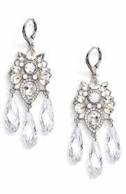 Black And Silver Chandelier Earrings Women U0027s Chandelier Earrings Nordstrom