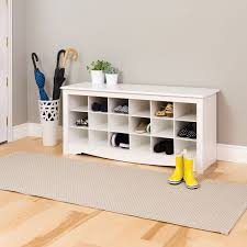 White Entryway Bench by Shoe Cubbie Storage Bench White Benches Best Buy Canada