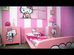 hello kitty bedroom decor diy hello kitty room decorating ideas youtube