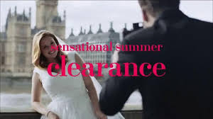 clearance wedding dresses david s bridal sensational summer clearance tv commercial