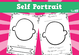 Melbourne Cup Worksheets Self Portrait Printable Teacher Resources And Activities For