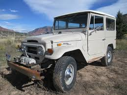 1970s toyota land cruiser 1970 toyota fj40 4x4 land cruiser with oem winch for sale in vail