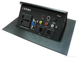 Office Desk Power Sockets Desktop Power Sockets Dh820ss Dh100c Leemc China Manufacturer