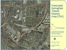 Springfield Map Transit Oriented Development Committee Fairfax County Virginia