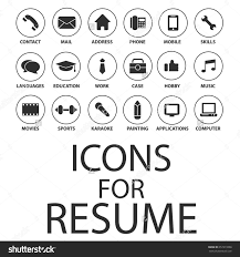 Resume Sample Hobbies by Resume Icons Free Download Hollow And Solid Circle Icons Icons