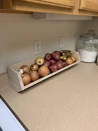 vegetable storage kitchen cabinets vegetable storage bin white