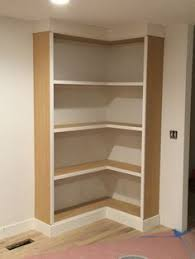 Free Wood Corner Shelf Plans by Corner Bookcase Plans May 8 2013 Click Here To See Free Plans For