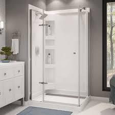 maax athena corner shower kit
