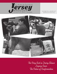2014 canadian jersey breeder dec by canadian jersey breeder issuu