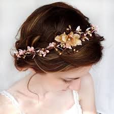 flower hair pretty flower crown and hairstyle tutorial on the hunt