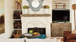 How To Decorate A Brick Fireplace 25 Cozy Ideas For Fireplace Mantels Southern Living