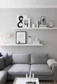 living room wall shelves image result for 2 staggered shelves above couch decor pinterest