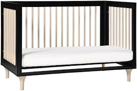 Babyletto Rocking Chair Babyletto Lolly 3 In 1 Crib Black And Washed Natural Kids N Cribs