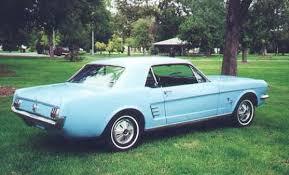 sky blue mustang 1966 mustang colors