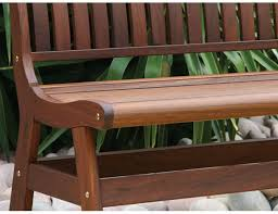 Jensen Leisure Amber II Ipe Wood Bench - Ipe outdoor furniture