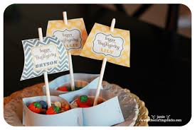mayflower nut cup thanksgiving place cards