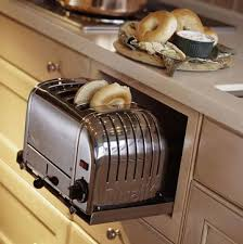 Built In Toasters Small Appliance Storage Toasters Bread Crumbs And Cupboard
