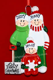 delightful decorations personalised christmas decorations