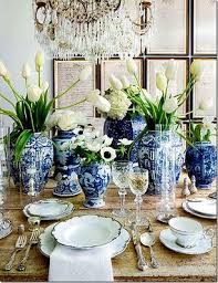 Best Dining Room Images On Pinterest Dining Room Fine - Blue and white dining room