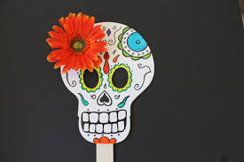easy day of the dead skull mask craft