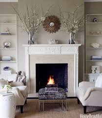 how to decorate around a fireplace living room pictures ideas sofas leather furniture the color