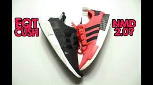 Cushion Core Adidas Eqt Cushion Adv Core Black Review And On Feet Youtube