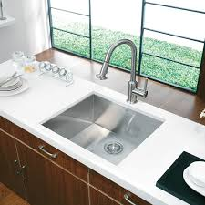 Square Sink Kitchen 20 Au Courant Stainless Steel Sinks Square Kitchen Stainless