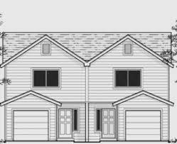 Narrow Lot Duplex Floor Plans by Duplex Floor Plans Houses Flooring Picture Ideas Blogule