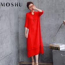 online get cheap white linen dress aliexpress com alibaba group