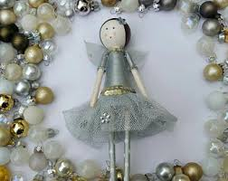 Christmas Decorations Fairy Tree Topper by Christmas Tree Fairy Etsy