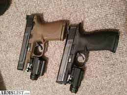 smith and wesson m p 9mm tactical light armslist for sale trade smith and wesson m p 9mm apex and tac