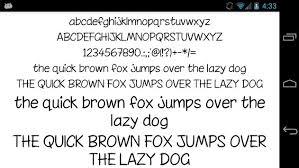 flipfont apk free fonts for flipfont 50 written apk free personalization
