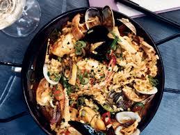 seafood thanksgiving recipes seafood and chicken paella with chorizo recipe tamara murphy