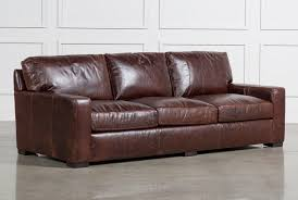 tan brown leather sofa leather sofas free assembly with delivery living spaces