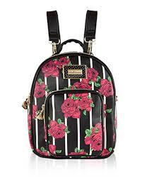 Minnesota small travel bags images Betsey johnson mini convertible travel luggage purse backpacks jpg