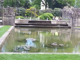 Decorative Pond Fountain And Decorative Pond Picture Of Rose Garden Rosengarten