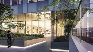 Glass Box House Gallery Of Schmidt Hammer Lassen Breaks Ground On Glass Box