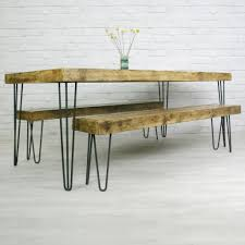 Image Of Hairpin Industrial Metal Table Legs For The Home