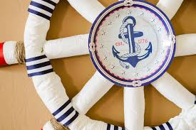 sailor baby shower decorations