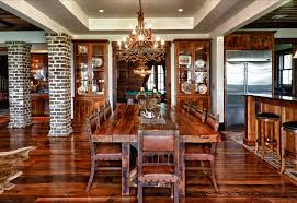 Rustic Dining Rooms by Rustic Dining Chairs Dining Room Eclectic With Arched Windows