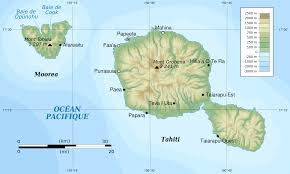 French Polynesia Map Map Of Tahiti U2013 Yaei