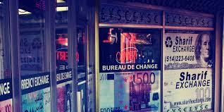bureau de change ouvert le dimanche sharif exchange