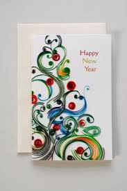 happy new year paper cards handmade new year cards merry christmas and happy new year 2018