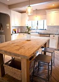 farmhouse island kitchen brilliant height kitchen island dining table ideas farmhouse