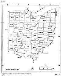 Map Of Sandusky Ohio by Ohio Free Map