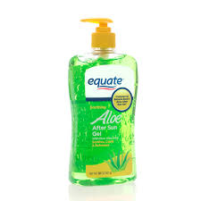 edible gel equate soothing aloe after sun gel 20 oz walmart